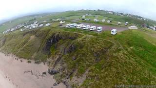 Aerial Video of Sango Sands Durness