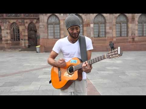 Mad world street cover (Gary Jules)...