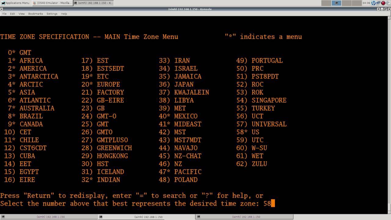 OpenVMS 8 4 Alpha using es40 emulator  Part 1    Installation