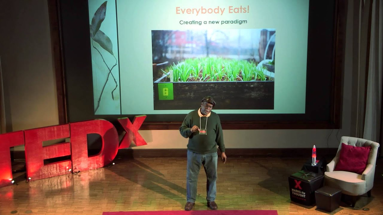 Urban agriculture in a techno-culture society | Rashid Nuri | TEDxEmory