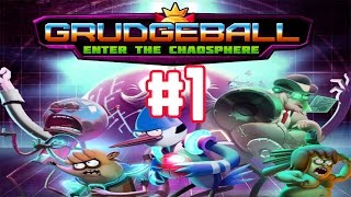 Grudgeball: Enter the Chaosphere - Arcade Mode Walkthrough Part 1  (iOS)