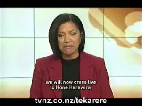 Seabed & Foreshore repeal laboyur says only after new legislation Nov 4 2009 Te Karere Maori News TVNZ