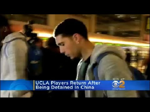 UCLA Players Return After Being Detained In China