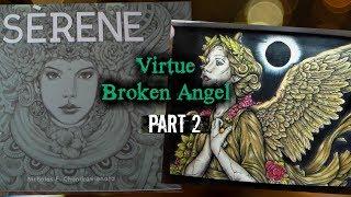 Prismatic atticAngel Virtue Coloring in Serene by Nicholas Chandrawienata Part 2