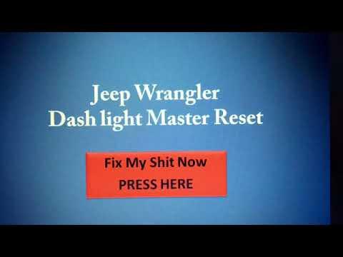 Wrangler Dash Lights