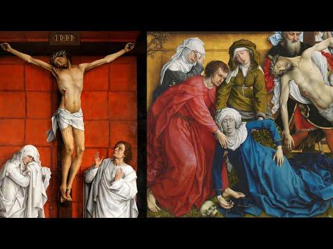 """""""¿Pinturas para mujeres? La Crucifixión y el Descendimiento de Cristo de Roger van der Weyden"""""""