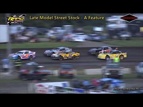 Late Model Street Stock Feature - Rapid Speedway - 7/17/18