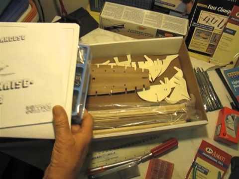 Video guida per costruire un modello di veliero for Piani di costruzione di un garage