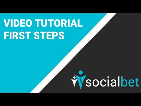 First Steps on our Platform - thesocialbet.com