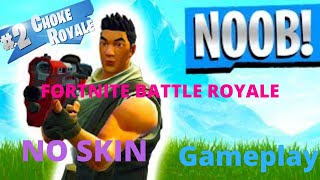 Fortnite Battle Royale PS4 *FAKE NO SKIN* Gameplay
