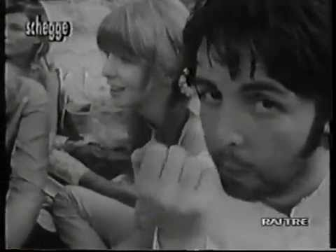 The Beatles In Ashram, Rishikesh, India (1.03.1968) (Filmed 15.03.1968)