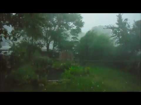 Insane storm hitting us 7.25.16