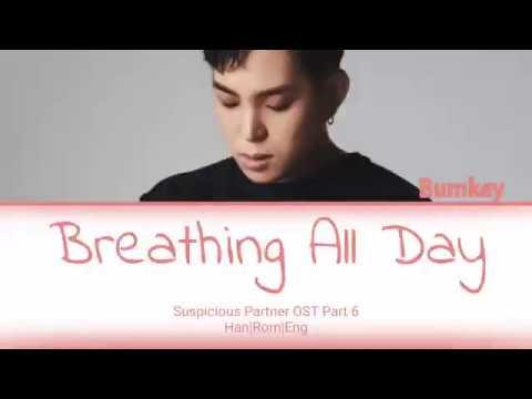 Breathing All Day - Bumkey (범키) - Suspicious Partner OST Part 6