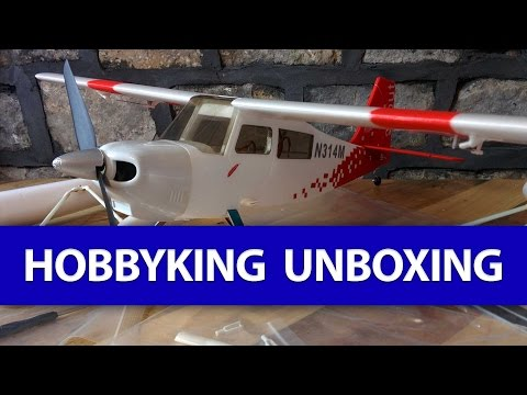 📦 Unboxing: HobbyKing Order with a Decathlon Scout Foam Seaplane in it, YAY!