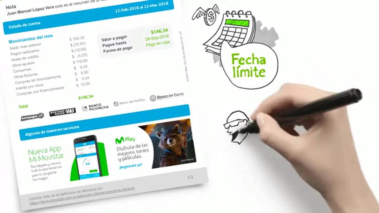 4d2ba847638 Riobamba conoce tu Nueva Factura de Movistar Empresarial - YouTube