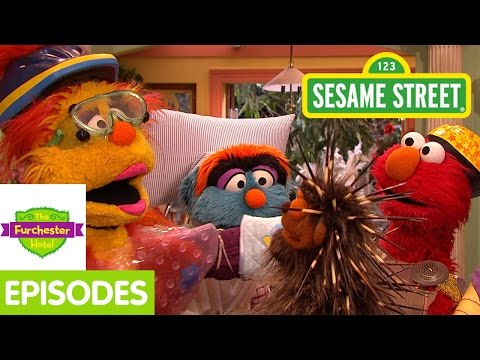 Furchester Hotel: Elmo Welcomes A Porcupine to the Furchester! (Full Episode)