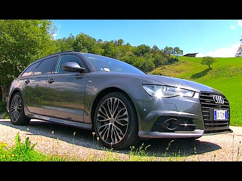 New Audi A6 Avant S Line Quattro 2015 First Test Drive Youtube