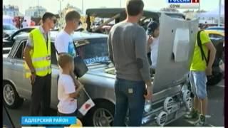 Сочинцам показали машину, в которой только акустическая система стоит 2 млн рублей(http://vesti-sochi.tv., 2014-10-06T14:20:17.000Z)