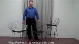 Bertoia Chairs And Bar Stools At Interior Express