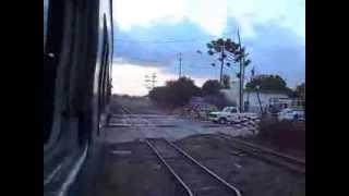 Linea Belgrano Sur llegando a Est. González Catán