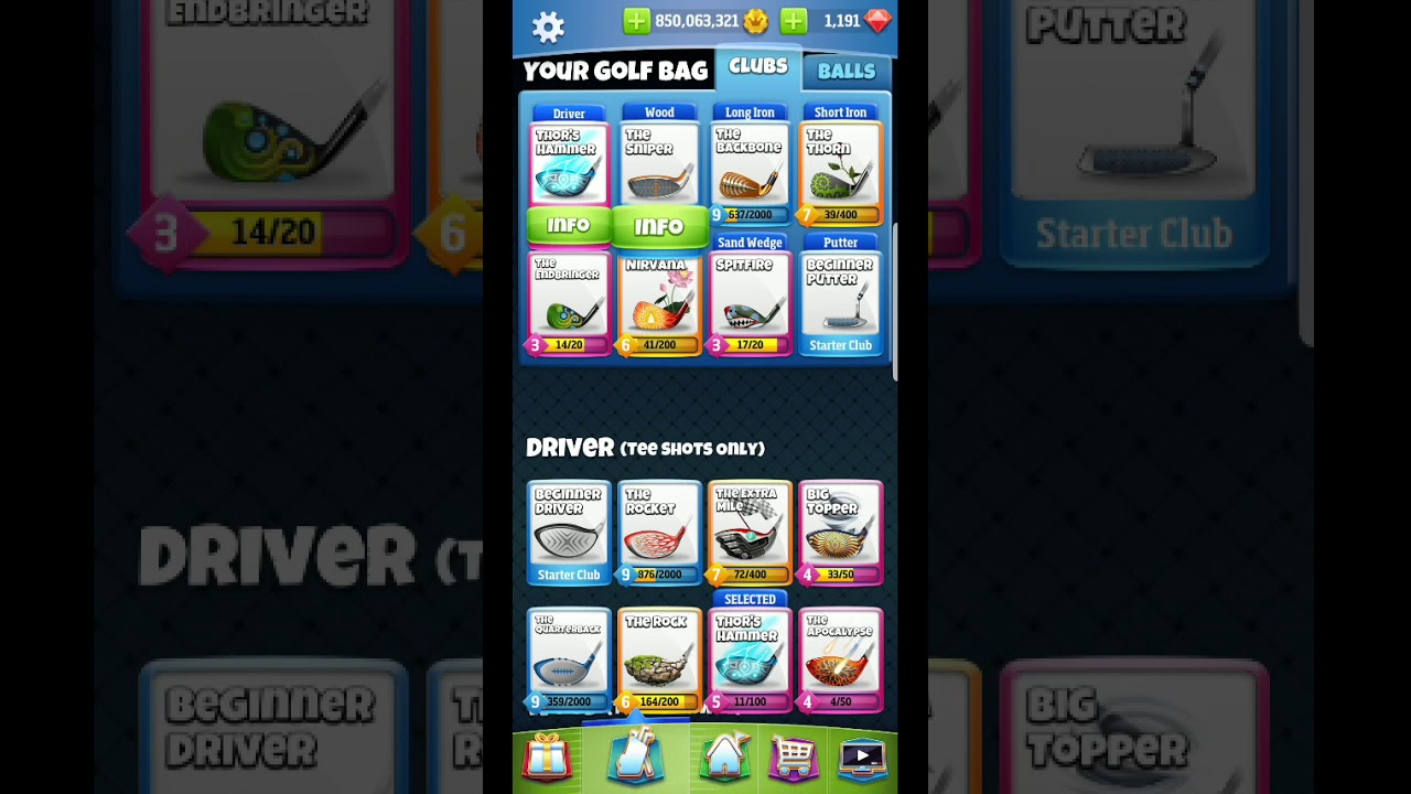 Golf Clash Basic Wind And Ring Guide For Succeeding At Golf Clash Youtube