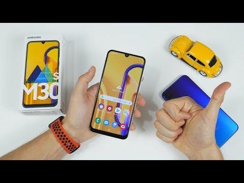 Распаковка Samsung Galaxy M30s - я твой Xiaomi ШАТАЛ?