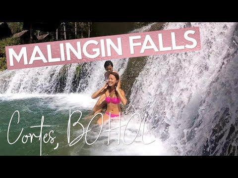 MALINGIN FALLS Cortes BOHOL Philippines