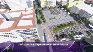 Barış AYDIN Ak Parti Çankaya Belediye Başkan Adayı - Kızılay Sakarya Meydanı Projesi