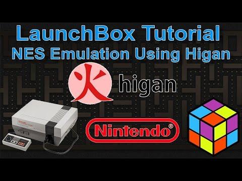 LaunchBox Tutorial NES Emulation Using Higan
