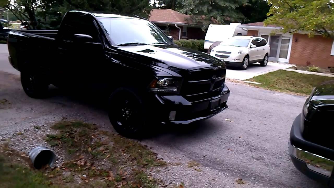 2014 Dodge Ram Black Express - YouTube