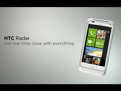HTC Radar - First Look