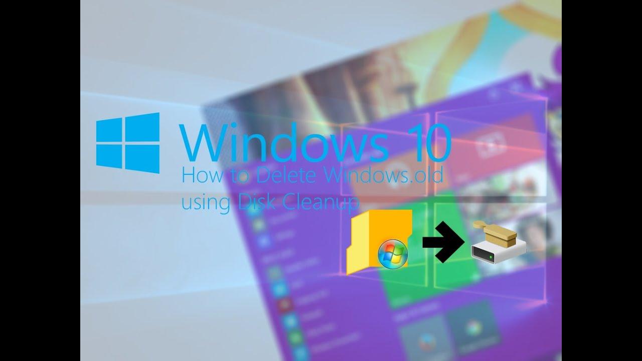 windows 7 how to delete windows.old