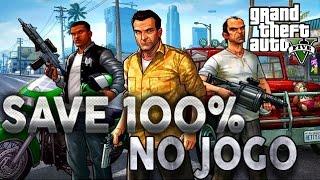 GTA V PC - Agora Estou com o SAVE 100% TUDO LIBERADO! Querem? Eu Ensino...