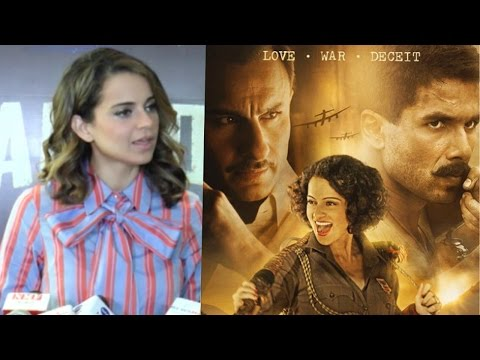 Kangana Ranaut Reacts On Rangoon's Excellent Reviews