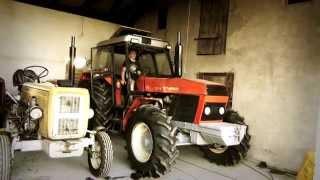 Odpalanie ciągników 2014 (Dźwięk Silnika) Ursus 1614, Zetor 8011, Ursus C360 3P