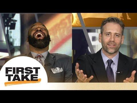 Max takes dig at Donovan McNabb on First Take | First Take | ESPN