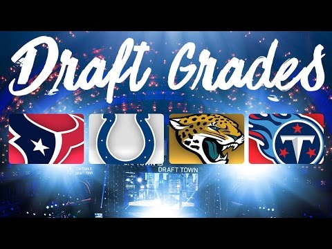 2016 AFC South Draft Grades | NFL