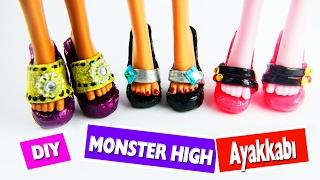 Video DIY Monster High bebekler için ayakkabı nasıl yapılır?  Kendin Yap download MP3, 3GP, MP4, WEBM, AVI, FLV November 2017