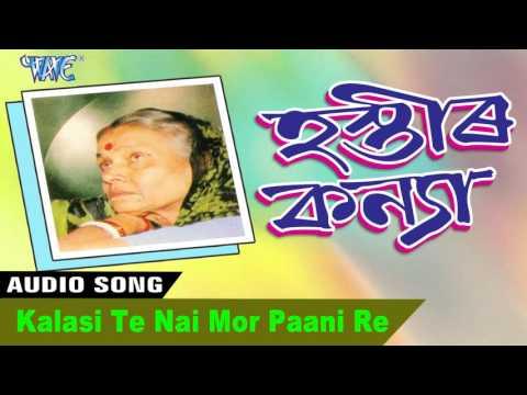 Kalasi Te Nai Mor Paani Re || Hastir Kanya || Pratima Pandey Barua || New Assamese Songs 2016