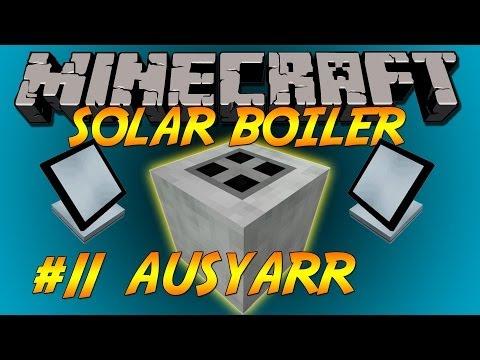 FTB Solar Boiler, Green power with factorization & powerconvertors Let's Play Ep11