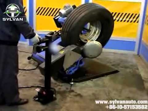 WH0126 tire changer from sylvan auto.com