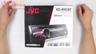 Автомагнитола JVC KD-R951BTE с поддержкой iPhone | Bluetooth. Обзор avtozvuk.ua