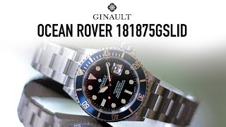 Ginault Ocean Rover 181875GSLID - Initial Impressions of the Super Submariner Homage Dive Watch