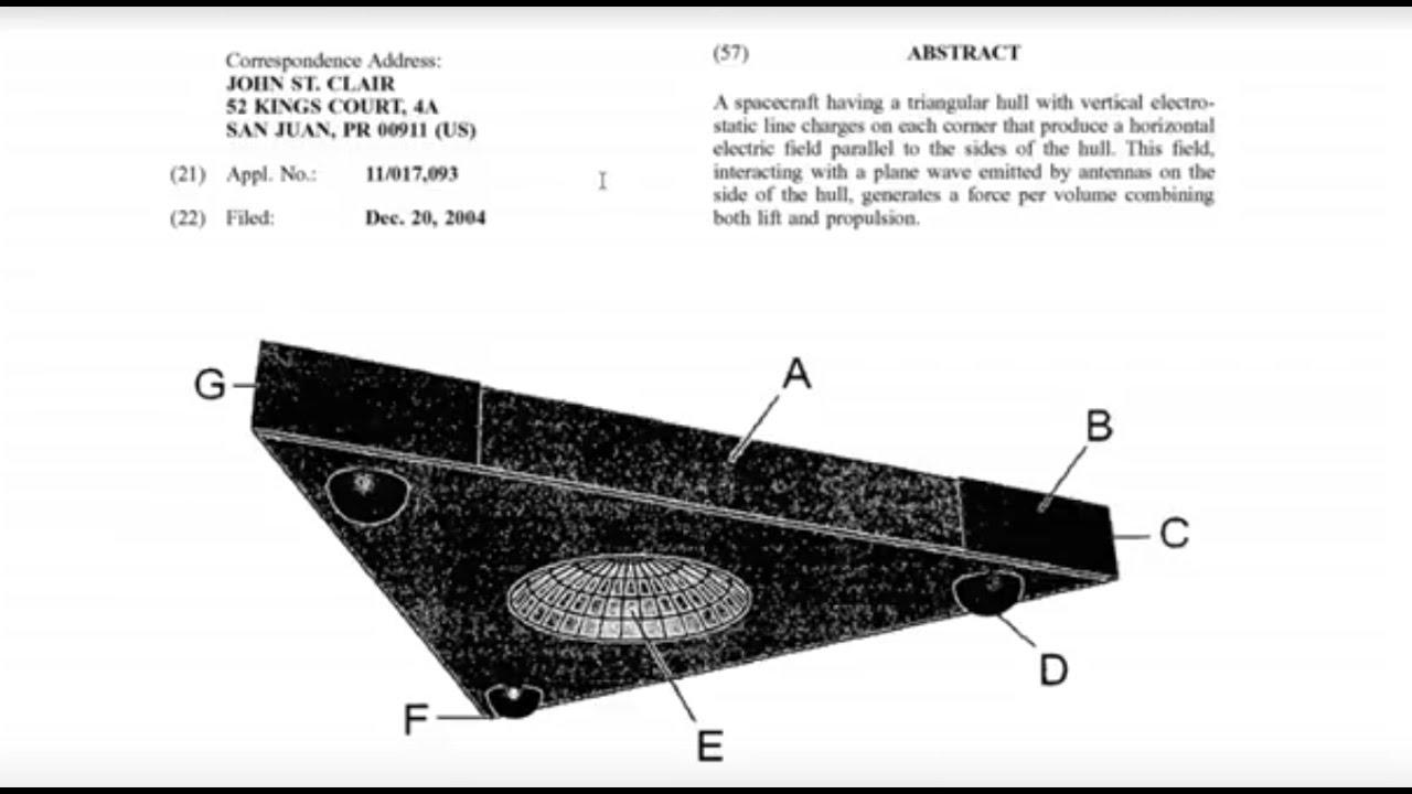 Risultati immagini per TR3B Patent