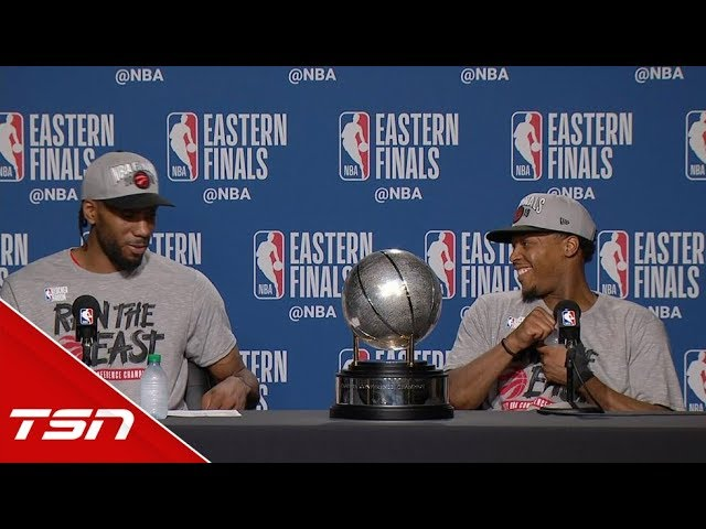 Kawhi and Lowry ready to achieve their NBA championship dreams