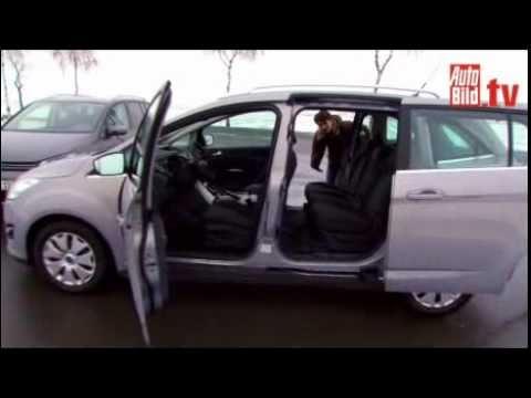 C Max Ford >> FORD Grand C-Max vs. VW Touran - Test Video ..................................Oeni - YouTube