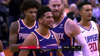 Devin Booker Fouled Out Patrick Beverley And Suns Bench Waved Him Goodbye