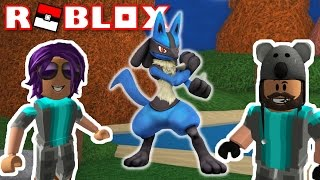 EVOLVING RIOLU INTO LUCARIO!!!! | Pokémon Brick Bronze [#7] | ROBLOX w/ Thinknoodles