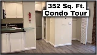 Tiny Apartment Tour | 352 Square Foot Studio