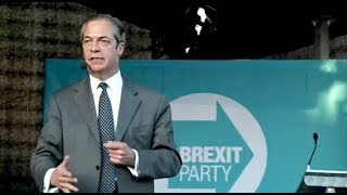 Farage: Tories & Labour trying to build anti-Brexit coalition - Brexit Party Rally, Merthyr Tydfil